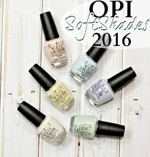 2016 Soft Shades Collection
