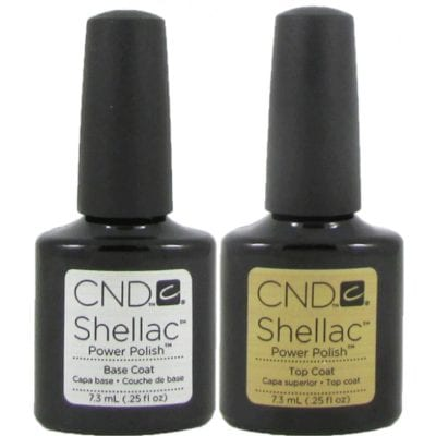 Shellac Top & Base Coat