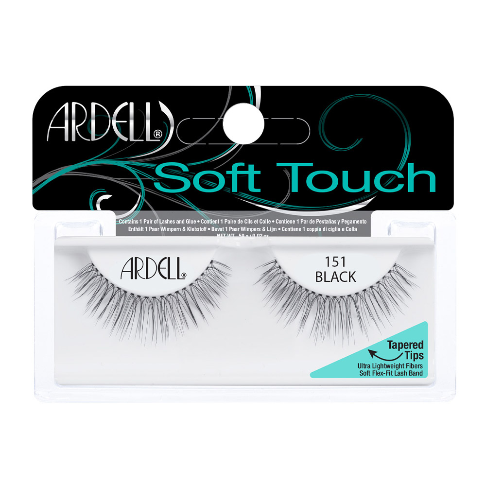 873662d093a Ardell Lashes Soft Touch - 151 Black - Beauty Gallery Ltd.