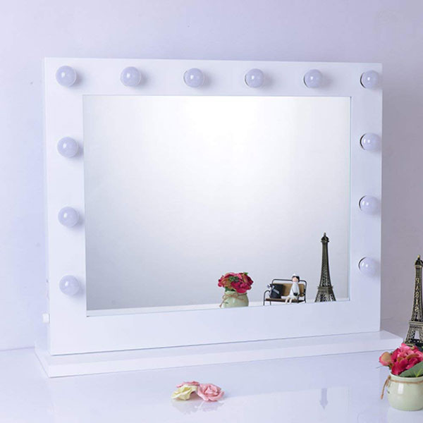 Large Hollywood Makeup Mirror With 12